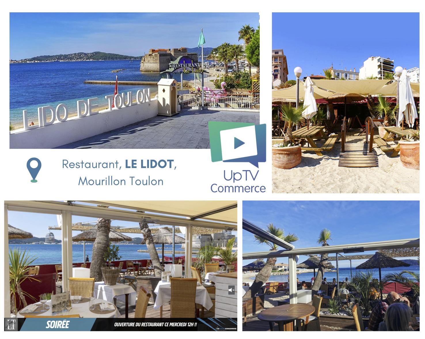 UpTV Commerce Le LIDOT restaurant, TLN Anse Technology